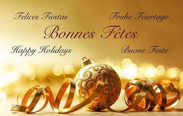 Késaco vous souhaite de passer de bonnes et heureuses fêtes de fin d'année!