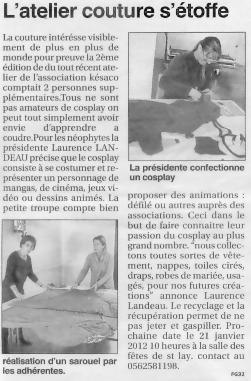 petit journal 151211couture